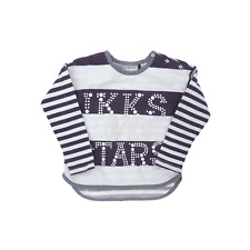 ikks tee-shirt  marinière manches longues fille - taille 3 ans
