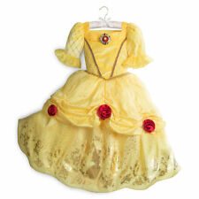 NWT Disney Store Belle Costume 5/6,9/10,13 Girl Beauty and the Beast