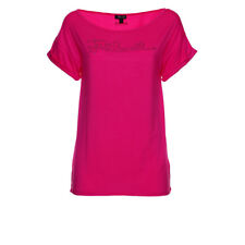 115470 JUST CAVALLI T-SHIRT DONNA FUCSIA