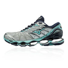 Mizuno Womens Wave Prophecy 7 Running Shoes Trainers Sneakers Blue Grey Silver