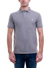 RALPH LAUREN 710651933 POLO Uomo Manica Corta Lavata Perfect grey