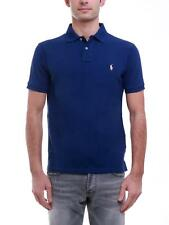 RALPH LAUREN 710651933 POLO Uomo Manica Corta Lavata Fall royal