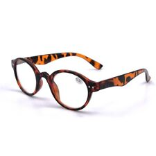 96ce968c5fc1 Mens Womens Vintage Round Reading Glasses Spring Hinge Readers Fashion  +1.0~+4.0