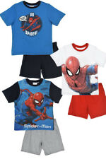 Spiderman Boys Kids Summer Pajamas Short Sleeve Pyjamas PJ Set Shortama