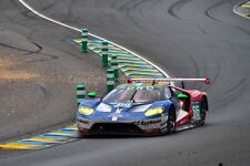 Ford GT no66 24 Hours of Le mans 2016 photograph picture poster print