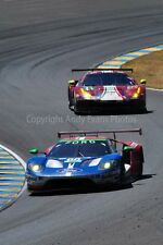 Ford GT no66 24 Hours of Le mans 2017 photograph photo picture poster art print