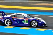 Porsche 911 RSR no91 24 Hours of Le Mans 2018 photograph picture poster print