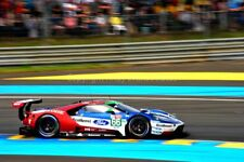 Ford GT no66 24 Hours of Le Mans 2018 photograph picture poster print
