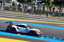 Porsche 911 RSR no91 24 Hours of Le mans 2017 photograph picture poster print