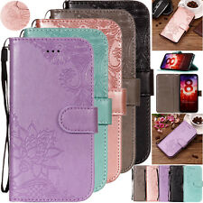 Floral Embossed Leather Wallet Case Cover for Xiaomi Mi 8 6X Redmi 4A 4X Note 5A