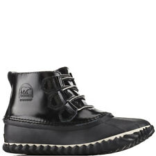Womens Sorel Out N About Rain Patent Leather Winter Waterproof Ankle Boot UK 3-9