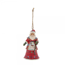 NEW Lapland Santa With Bells Hanging Ornament  - Heartwood Creek By Jim Shore