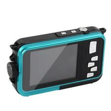 Full HD camara doble pantalla impermeable 24mp 16x zoom digital video Dive OE