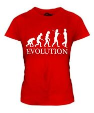 Irlandés Baile Evolution Of Man Mujer Camiseta Top Regalo Ropa