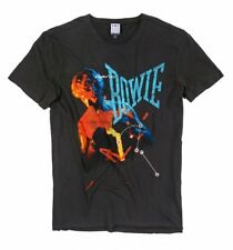 Official Charcoal David Bowie Let's Dance Anniversary T-Shirt from Amplified