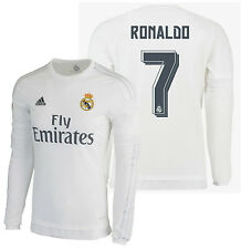 Adidas Cristiano Ronaldo Real Madrid Manches Longues Maillot Domicile 2015/16