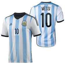 Adidas Lionel Messi Argentina Home Jersey Fifa World Cup Brasil 2014