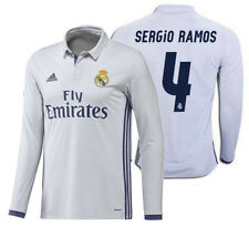 Adidas Sergio Ramos Real Madrid Manga Larga Home Jersey 2016/17
