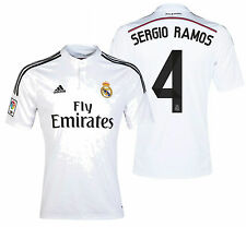 Adidas Sergio Ramos Real Madrid Home Jersey 2014/15