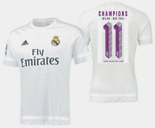 Adidas Real Madrid Ligue des Champions Undecima Maillot Domicile 2015/16