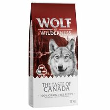 """Wolf of Wilderness """"The Taste of Canada"""" Dog Food"""