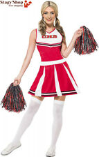 Smiffys 40065XS Déguisement Femme Pompon Girl, Rouge, Taille XS