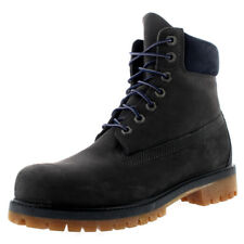 Mens Timberland 6 Inch Premium Grey Waterproof Leather Casual Ankle Boot UK 7-13