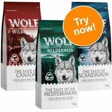 """Wolf of Wilderness """"The Taste of"""" – Mixed Trial Pack Dog Food"""