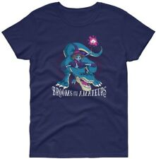 Women's Funny Halloween Costume Witch on T-Rex Quote Graphic Top T-SHIRT TEE 006