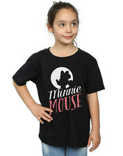 Disney Fille Minnie Mouse Moon Silhouette T-Shirt