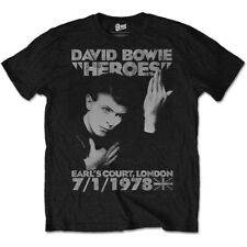 DAVID BOWIE T-Shirt Heroes OFFICIAL MERCHANDISE