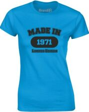 brand88 - MADE IN 1971, T-shirt da donna stampata