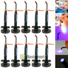 10Packs Dentist Dental LED Curing Light Lamp Wireless Cordless Cure 10W 2000MW