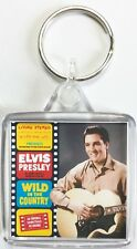 Elvis Presley Classic Album Cover Square Keyrings Wild In The Country #1