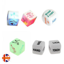 Funny Adult Couples Lovers Sexy Dare Hen Stage Glow Drinking Game Decider Dice
