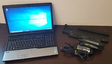 "Fujitsu Lifebook E752 15.6"" HD Display i5 - i7 HDD SSD 8 / 16GB RAM Win 10 Pro"