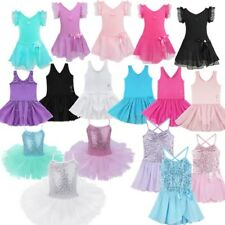 Toddler Baby Girls Ballet Dress Dance Leotard Tutu Skirts Dancewear Costume