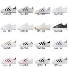 adidas Originals Superstar W Low Women / J Junior Kids Shoes Sneakers Pick 1