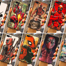 Deadpool Phone Case Cover Marvel Comics Hero Phone Case Skin For iPhone X 8 7 6+