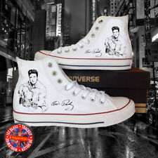 Elvis Inspired All Star Chuck Taylor Hi Top Converse, Presley, USA, King, Gift