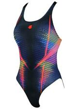 Mad Wave Women's Flow Swimsuit - Black/Red