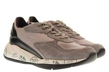 Premiata A18u shoes woman low sneakers SCARLETT 3485 BLACK GRAY
