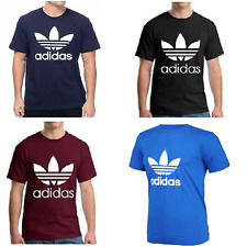 Mens Adidas Originals Trefoil / California Short Sleeve Crew Neck Mens T-Shirt