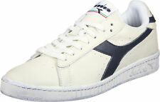 SCARPE DIADORA 160821 00001 C5262 BIANCO PANNA BLU GAME L LOW WAXED SNEAKERS