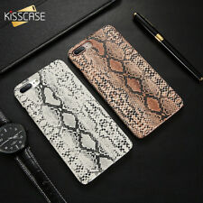 Snake Skin Hard Phone Case for iPhone X Xr Xs MAX 8 7 Plus 6 6s Plus 5 SE 5S