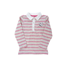 Orchestra polo manches longues + coeur strass  fille 2 ans