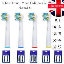Electric Toothbrush Heads Replacement Brush Oral Floss Action B Compatible