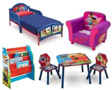 CHOOSE FROM PAW PATROL BEDROOM FURNITURE - KIDS BEDS, STORAGE UNITS, CHAIRS