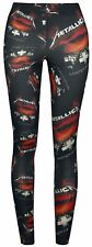 OFFICIAL Metallica - Master Of Puppets Leggings Rock Metal Maiden Amon Amarth