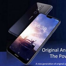 "Nokia X6 4G Smartphone Dual Sim 5.8 "" Snapdragon 636 Android 8.1 64gb 16mp + 5mp"